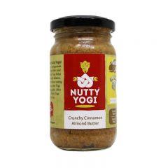 Nutty Yogi Crunchy Cinnamon Almond Butter 200gms.
