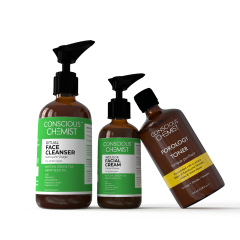 Conscious Chemist The CTM Essentials | Cleanse, Tone & Moisturize