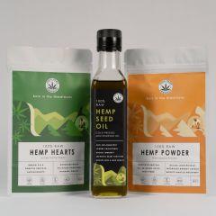 India Hemp Organics Hemp Starter Pack