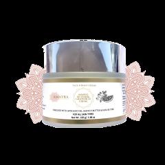 Amayra Naturals कौषेय – Mango Butter & Grapefruit Face N Body Creme – 100gm