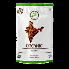 Orgabite Organic Premium Quality Almonds 400g