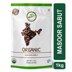 Orgabite Organic Masoor Whole   Red Lentil Whole 1Kg