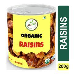 Orgabite Organic Premium Quality Raisins 200g