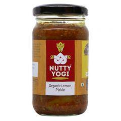 Nutty Yogi Organic Lemon Pickle 200 gms