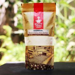 Nutty Yogi Black Chana Atta (Sattu) 500gm