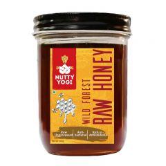 Nutty Yogi Wild Forest Raw Honey - 500 gms